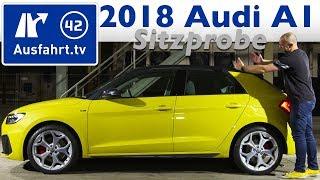 2018 Audi A1 - Sitzprobe, Weltpremiere, erste Vorstellung, kein Test