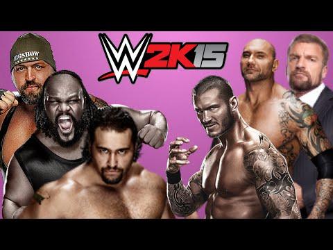 WWE 2K15: The Evolution VS Big Show, Mark Henry & Rusev [FR//HD]