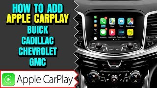 NavTool Apple CarPlay , Smartphone Mirroring for Buick/Cadillac/Chevrolet/GMC