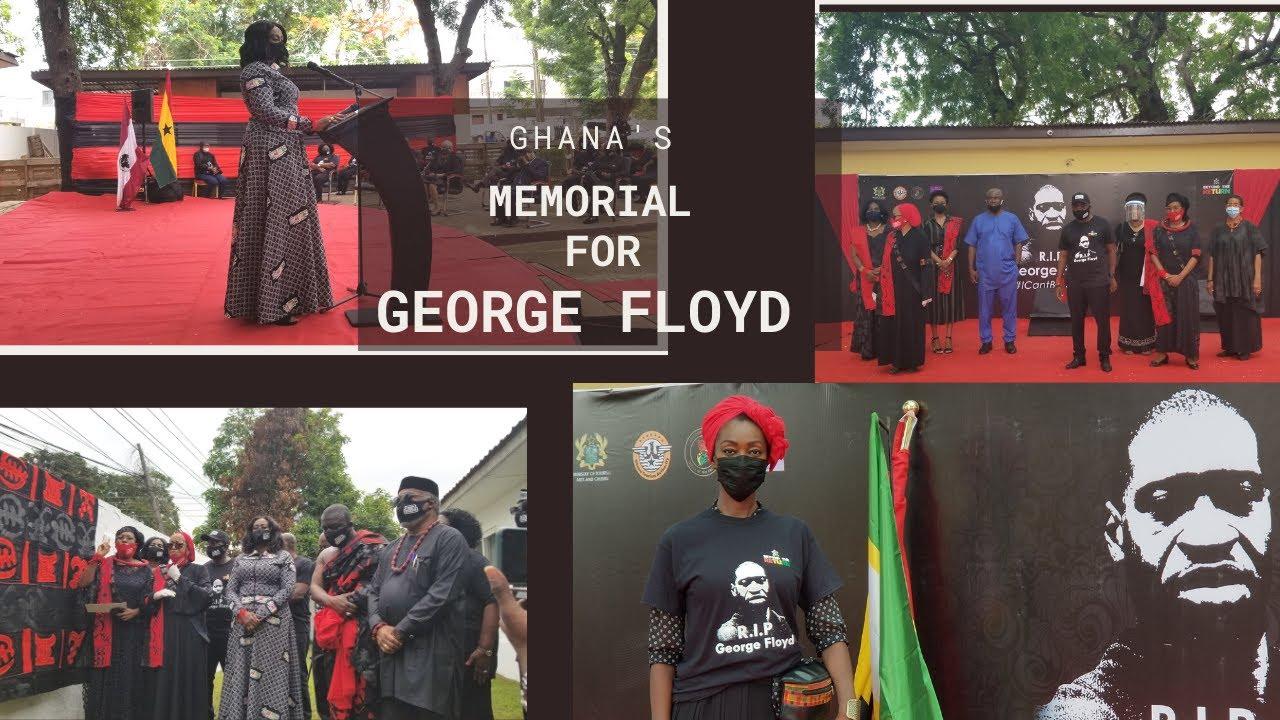 How Was Ghana's Memorial for George Floyd?