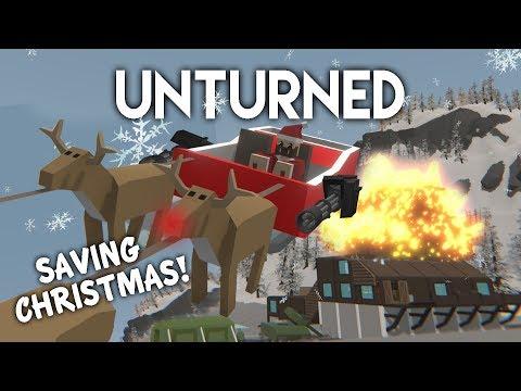 Unturned   Saving Christmas! (Roleplay Survival)