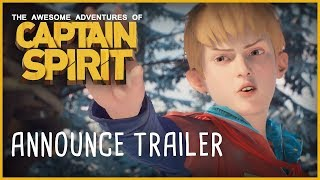 THE AWESOME ADVENTURES OF CAPTAIN SPIRIT - ANNOUNCE TRAILER - OFFICIAL E3 2018