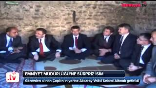 Selami Altınok İstanbul Emniyet Müdürlüğü'ne getiriliyor