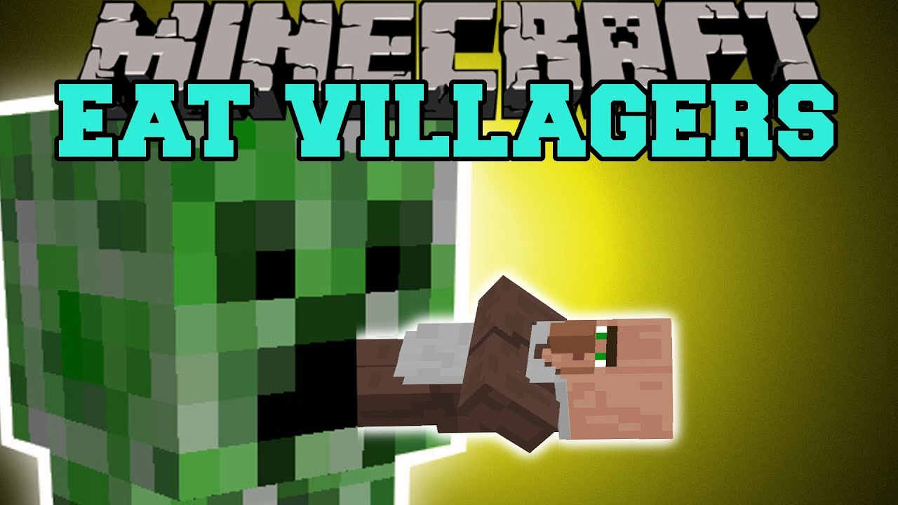 Minecraft eat villagers get emeralds the easy way mod showcase minecraft eat villagers get emeralds the easy way mod showcase youtube sciox Images
