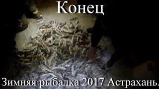 Астрахань 2017. Видео зимняя рыбалка. Заключительный день.
