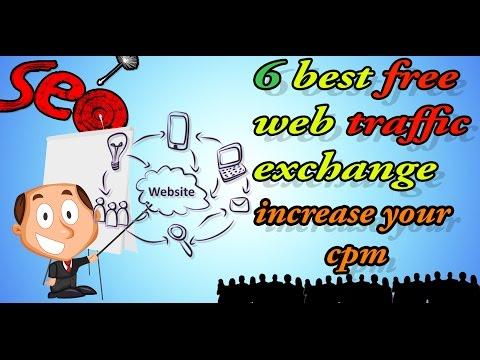 6 best free traffic exchange to increase your traffic and your cpm I أفضل المواقع التبادل الزيارات و