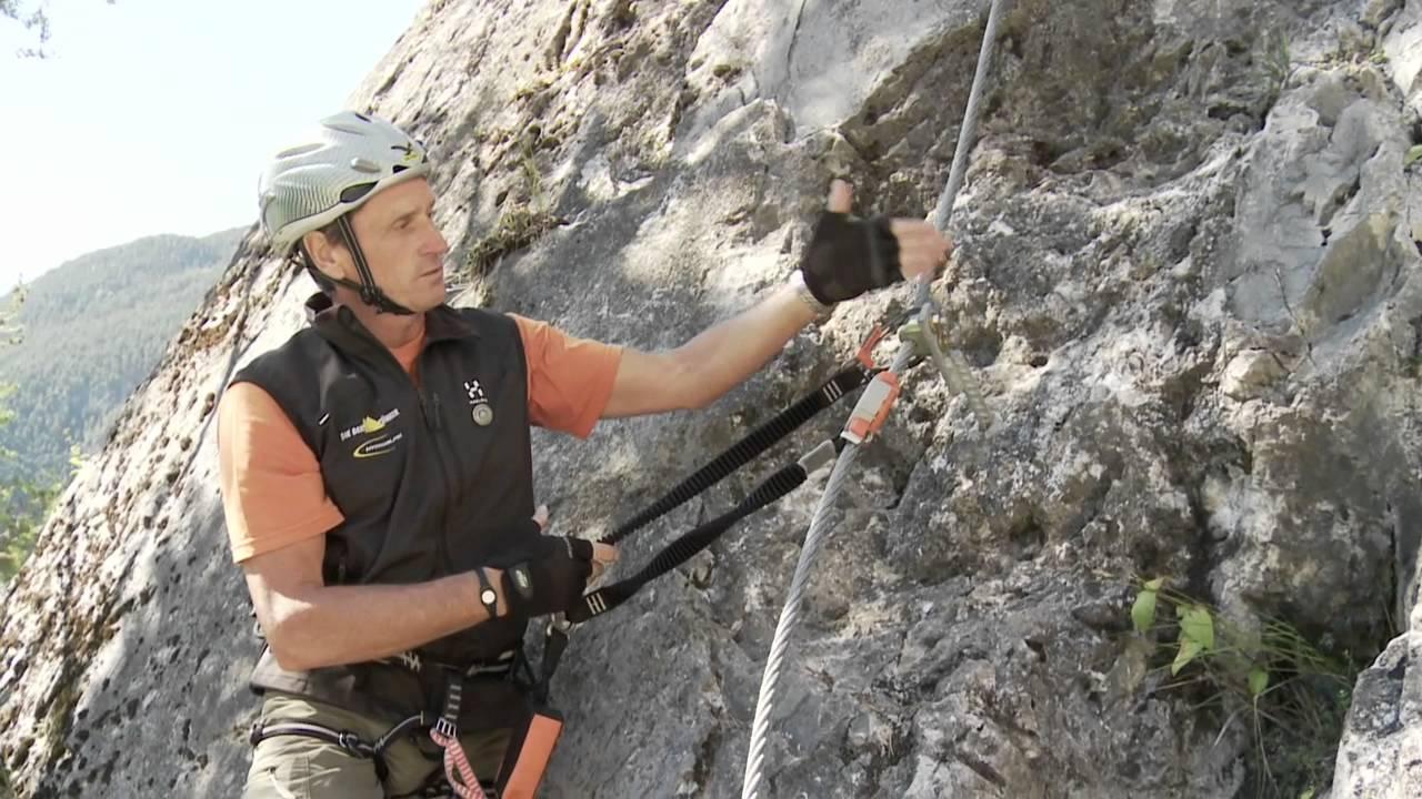 Klettersteigset Neue Norm : Naturfreunde bergsport ausbildung klettersteig teil 4 youtube