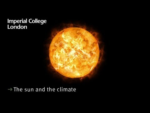 The sun and the climate
