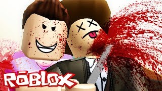 MY FRIEND STABBED ME BEHIND MY BACK! -Roblox