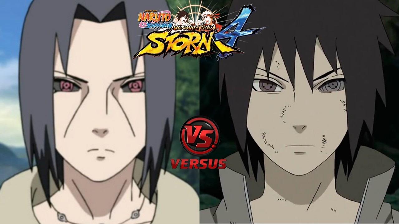 Itachi Uchiha Edo Tensei vs Sasuke Uchiha Rinnegan ...
