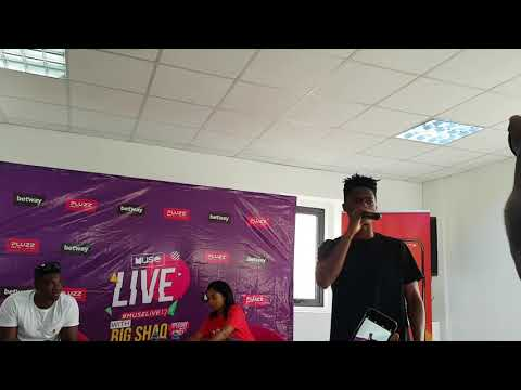 Kwesi Arthur Performs At Big Shaq (Michael Dapaah) Press Conference In Ghana About MuseLive 17