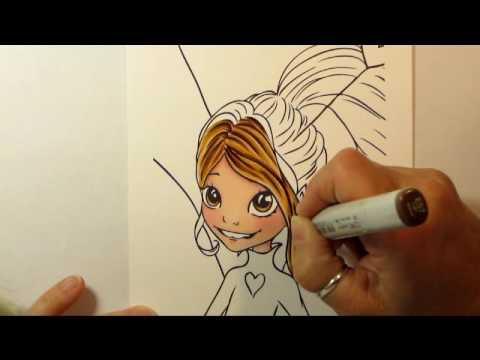 Let's Color with A Very Fairy Door