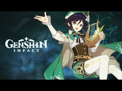 """Character Demo - """"Venti: A Bard's Business"""" (English Voice-Over)   Genshin Impact"""