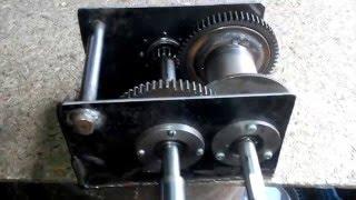 видео Устройство лебедки ручной, изготовление своими руками