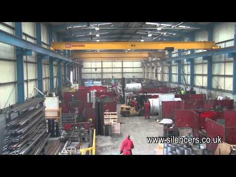 Industrial and Marine Silencers HD Promotional Film