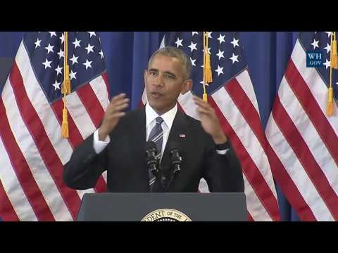 Obama: HS Graduation Rates Set Record - Full Speech at Benjamin Banneker H.S.