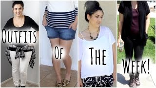 Outfits Of The Week- 8 Day PostPartum