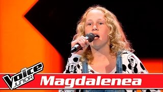 Magdalena synger: Michael Jackson – 'P.Y.T (Pretty Young Thing)' – Voice Junior / Blinds