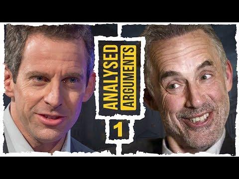 Jordan Peterson vs. Sam Harris (Vancouver, 1): Analysed Arguments