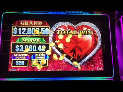 WMS Lock It Link Slot Machine FREE SPIN BONUS & BIG WIN @ GV Ranch Casino