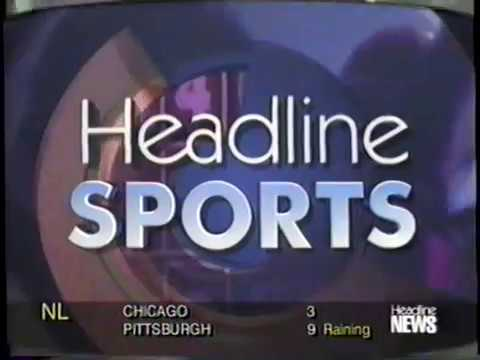 9/22/1996 HLN Headline News Sports report ASU Beats Nebraska