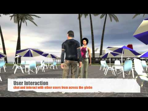 Web 3D Video Reel - Advergames - Virtual World - Website 3D