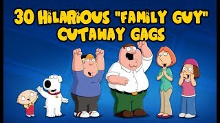 "30 Hilarious ""Family Guy"" Cutaway Gags"