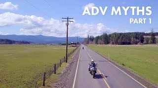 Adventure Motorcycle Myths: Tires, Foot Out Forward, Standing