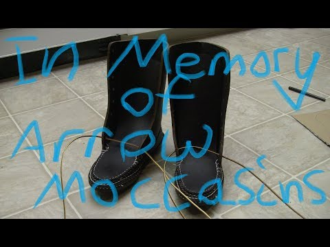 In Memory Of Arrow Moccasins