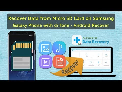 Recover Deleted Photos Music Videos from Android SD Card