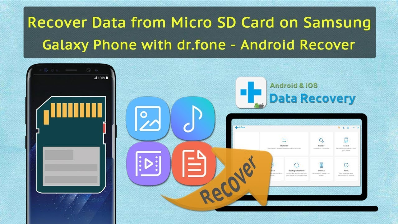 How to Recover Deleted Photos/Music/Videos from Android SD Card