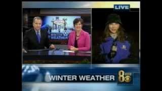 12/17/2008 SNOW DAY IN LAS VEGAS?  KLAS-TV, Ch. 8  Eyewitness News Coverage on Dec. 17 2008
