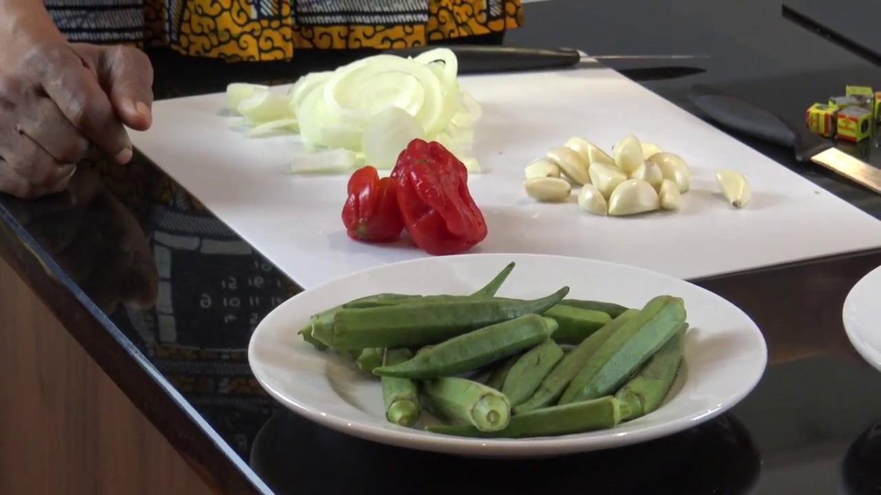 how to prepare okro soup