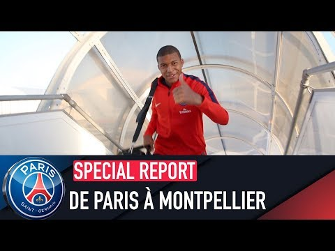 DE PARIS À MONTPELLIER with Kylian Mbappé, Marquinhos, etc