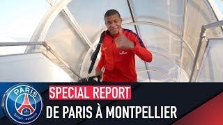DE PARIS À MONTPELLIER with Kylian Mbappé, Marquinhos, etc
