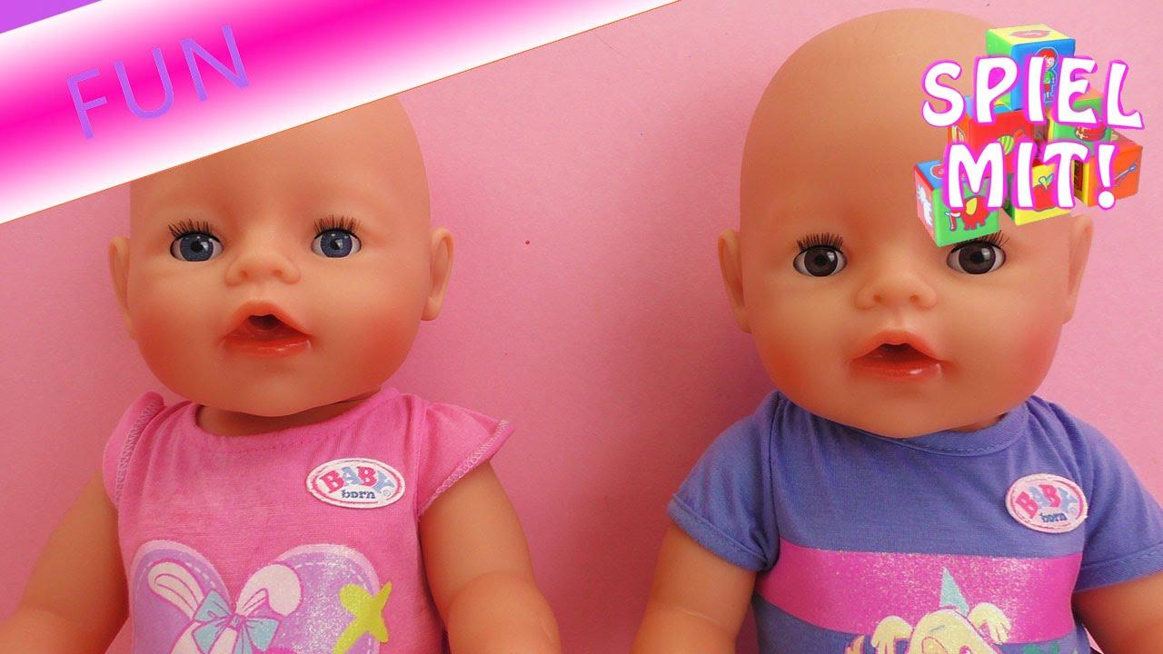 Puppen Vergleich Baby Born Junge und Baby Born Mädchen – mit ...