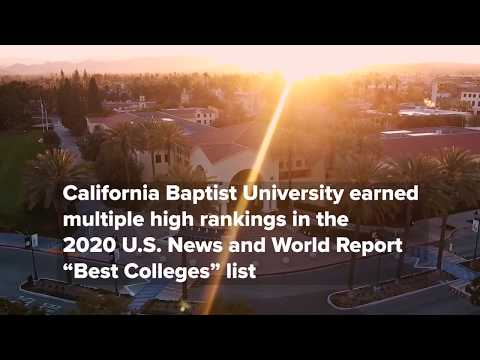CBU Earned Multiple High Rankings In The 2020 U.S. News And World Report