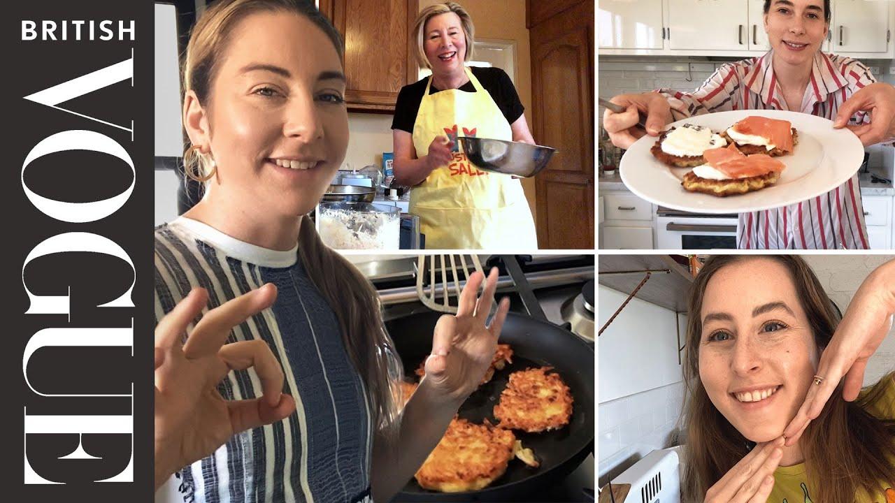 Haim Make Latkes With Their Mum | Family Secrets | British Vogue