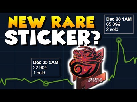 CS:GO  New RARE Sticker? Tyloo dropping out of ELEAGUE Major 2018!