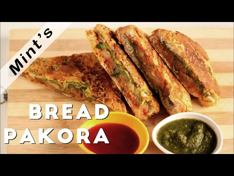 Bread Pakora Recipe In HIndi(OIL FREE)-Breakfast Recipes-Healthy Recipe-Indian Snacks Recipes-Ep-129