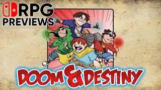 SwitchRPG Previews - Doom & Destiny - Nintendo Switch Gameplay