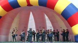 Военный оркестр Южно-Сахалинска. Выступление в г. Долинск.