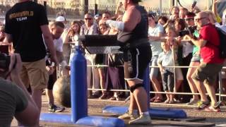 The Last Hero Atlas Stone 140 kg Soсhi Open Strongman CUP 2017