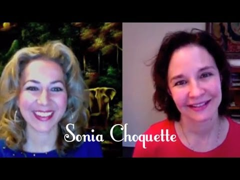 Sonia Choquette on how to use our intuition