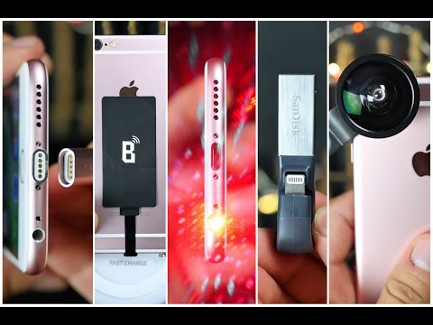 5 Coolest iPhone 6S Accessories!