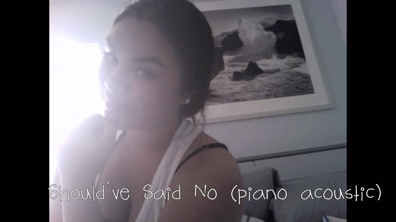 Shouldve said no piano acoustic taylor swift cover youtube shouldve said no piano acoustic taylor swift cover hexwebz Choice Image