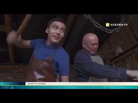 Kazakh TV. The school of nomads