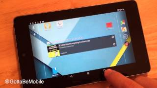 Nexus 7 2012 Android 5.0.2 Update Review - Speed