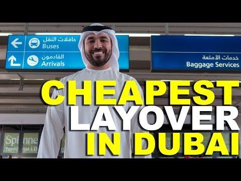 CHEAPEST LAYOVER IN DUBAI