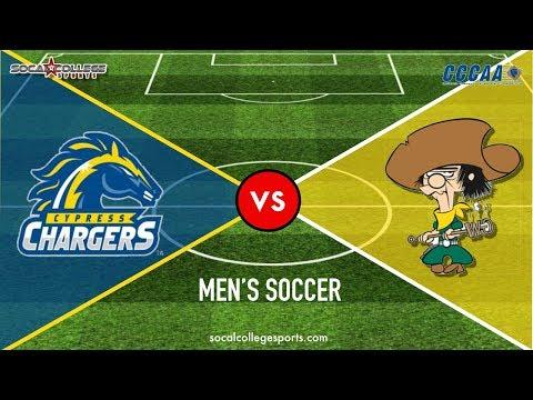 CCCAA Men's Soccer: Cypress At Golden West - 11/8/19 - 3pm